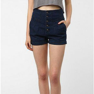 Urban Outfitters Shorts - UO Pins & Needles high-waisted shorts size 25